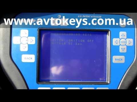 видео: Изготовление авто ключа с чипом honda crv