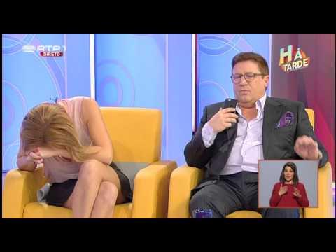 Herman José Recebe Chamada Telefónica em Directo - Há Tarde