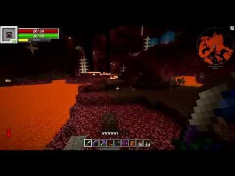 TolkienCraft II Episode 20 - Lava Generation