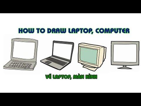 How To Draw | Laptop, Computer | Dạy Vẽ Cơ Bản🖌