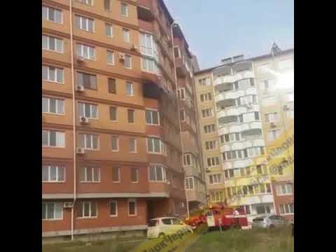 Жуткий пожар в Уссурийске: чёрный дым валил с балкона квартиры