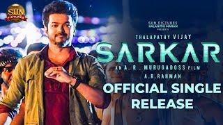 OFFICIAL: Sarkar Single Release Date – Thalapathy Vijay