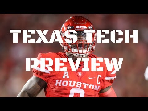Houston v Texas Tech : Southwest Conference Rematch!