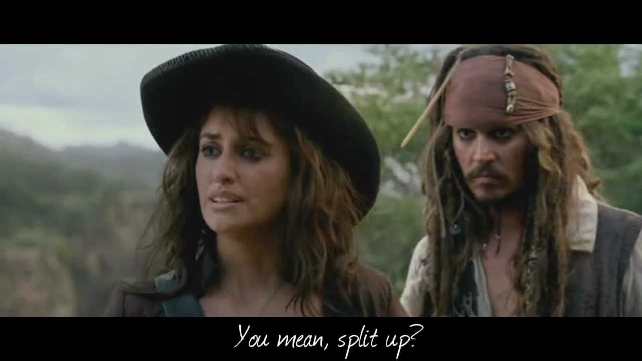 Best Pirates Of The Caribbean Quotes HD] Pirates of the Caribbean On Stranger Tides   Best Quotes Part  Best Pirates Of The Caribbean Quotes