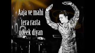 Aaja ve mahe tera rasta |Heena|Ashwini Bhave|dance cover by LAVNIKING Ashish Patil