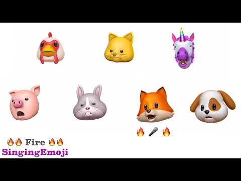 [Animoji Karaoke] Emoji Singing 'FIRE (불타오르네)' -- BTS (방탄소년단)