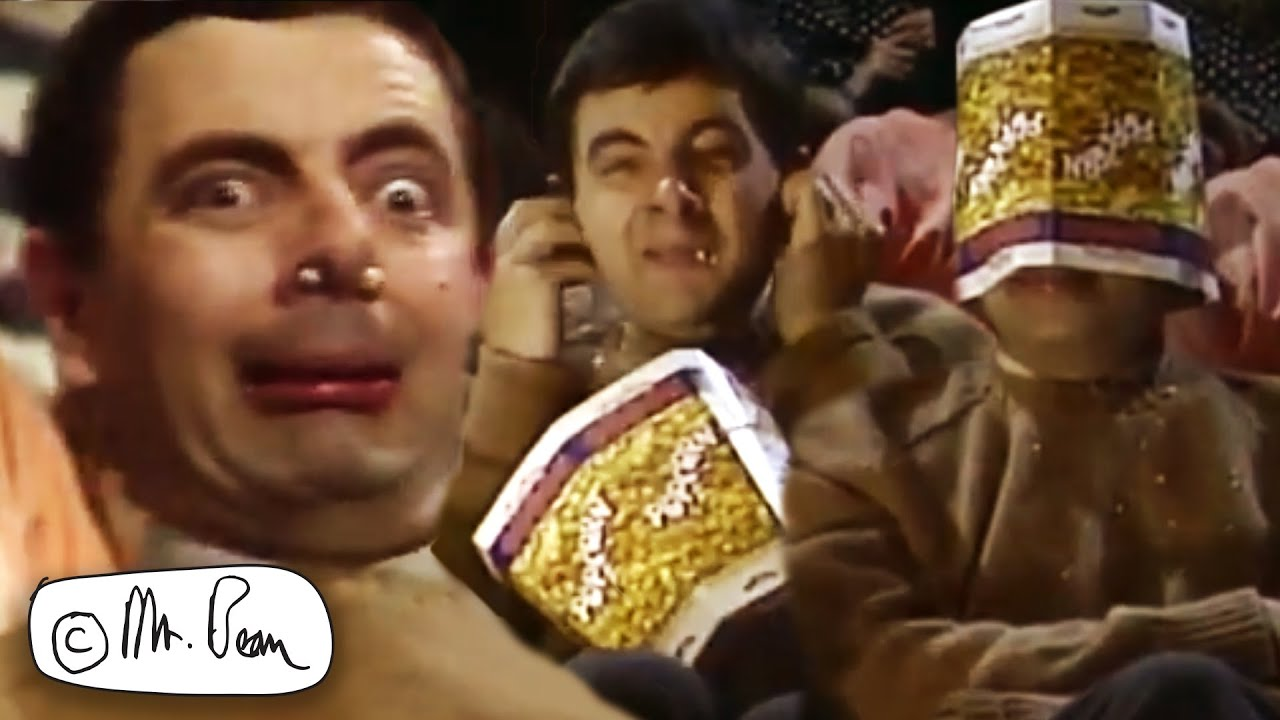 Download Happy POPCORN DAY Mr Bean! | Funny Clips | Mr Bean Official