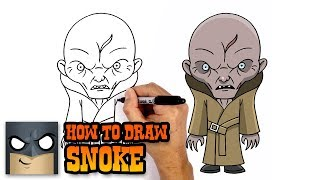 How to Draw Snoke | Star Wars (Art Tutorial)