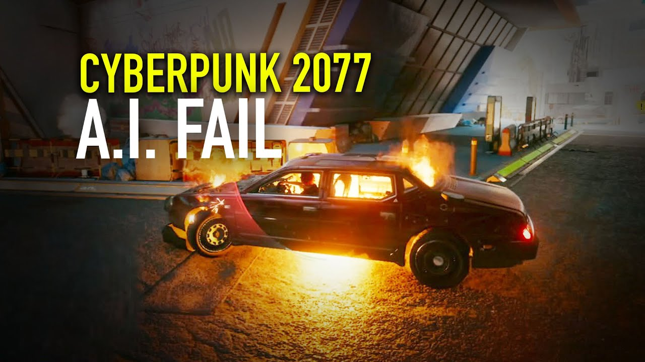 Cyberpunk 2077 - A.I. Fail ... this is not 2020 Artificial Intelligence?