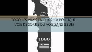 POLEMIQALEMENT VOTRE: TOGO: LA POLITIQUE VOIE DE SORTIE OU VOIE SANS ISSUE ?