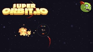 Let's Play: SuperOrbit.io Escaping Homing Missiles