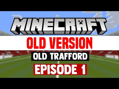 Minecraft Stadium Builds: Old Trafford [1] Pitch