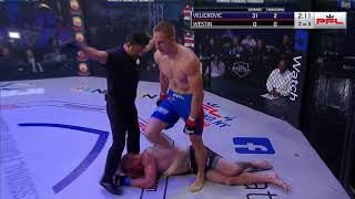 PFL3 DC: Fight 1 - Velickovic defeats  Westin
