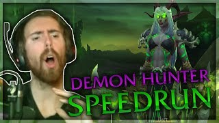 Asmongold Reacts to a DH Speedrunning Through Raids and Dungeons at 230% Base Movement Speed