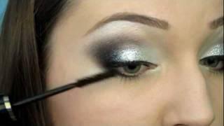 Вечерний макияж с блестками /// Glitter make up (RUS)