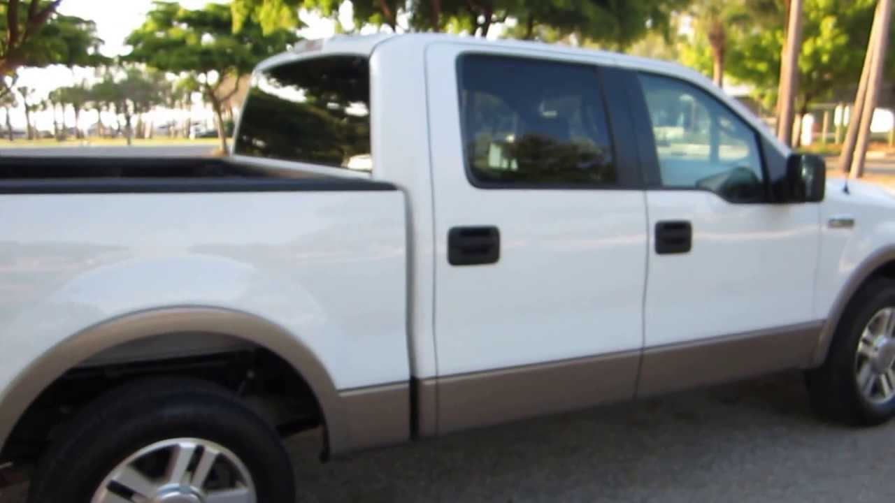 For Sale 2005 Ford F 150 5 4l Lariat Crew Cab Youtube