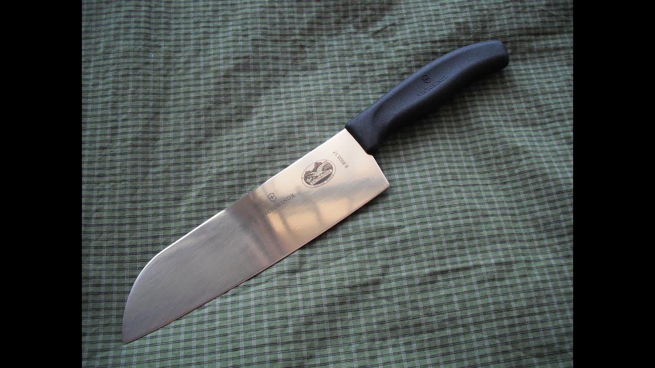 victorinox swiss classic santoku knife 6 8503 17 youtube