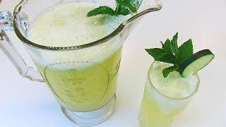 Betty's Cooling Cucumber-mint Lemonade