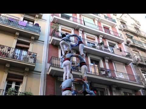 Castellers del Poble Sec - 3d8  PCrt -  Diada de Tardor (15-XI-15)