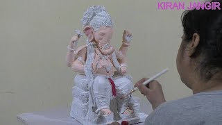 Sculpting Ganesha in water based clay (Shadu Mati) Time lapse