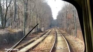 TheMBTADog: MBTA Ashmont-Mattapan High Speed Trolley Line Ride [PCC 3260]