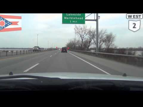 Road Trip 2013 Part 7,  Midwest Vacation,  Cleveland OH to Detroit MI