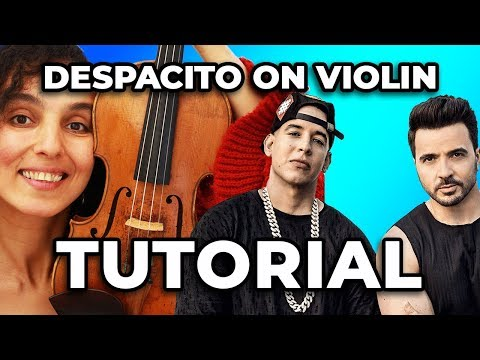 How To Play Despacito on The Violin | Tutorial With Sheet Music | Luis Fonsi ft  Daddy Yankee