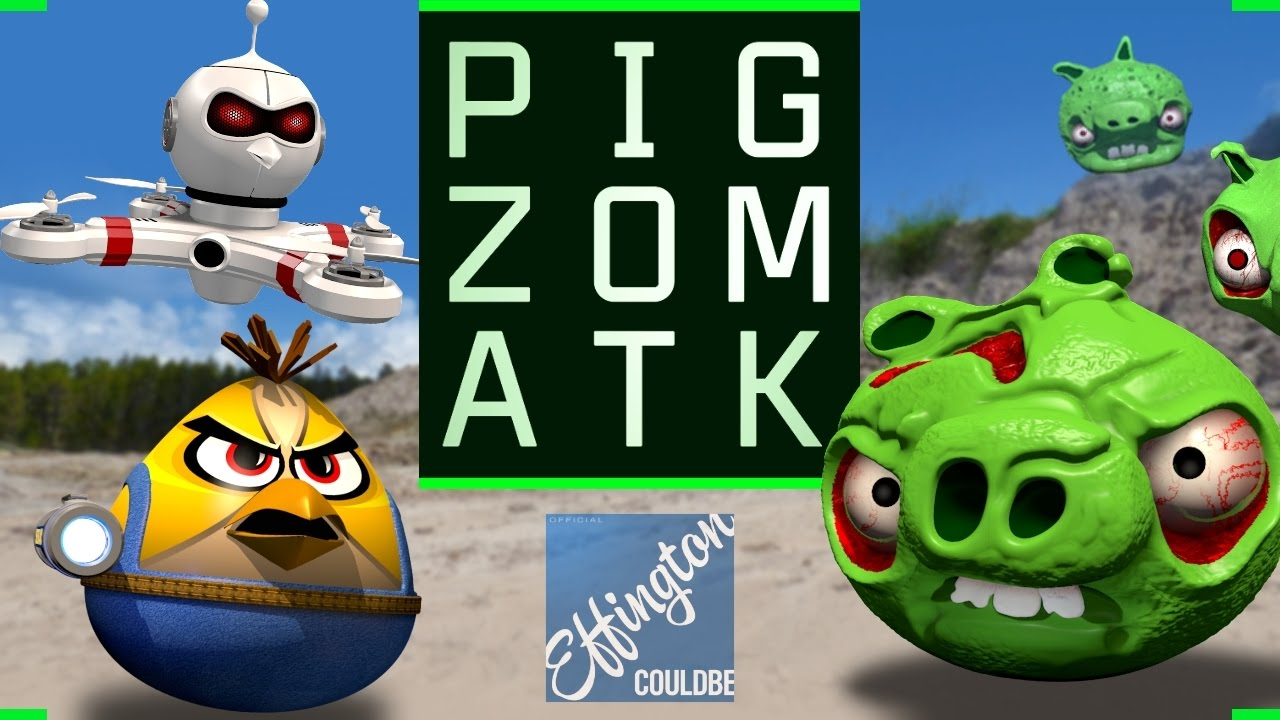 Pig Zombies Angry Birds Parody After Pig Portal Problems Youtube