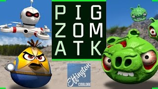 Pig Zombies - Angry Birds Parody - After Pig Portal Problems