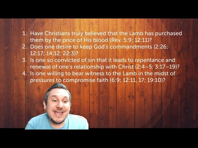 The 144,000 (Part 4) - Revelation 7:1-8 - Mt. Carmel Demorest