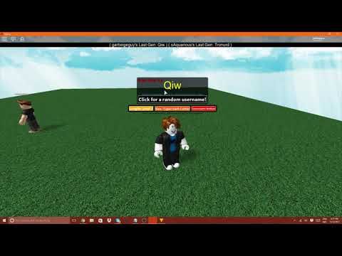 ROBLOX 3 letter name generator