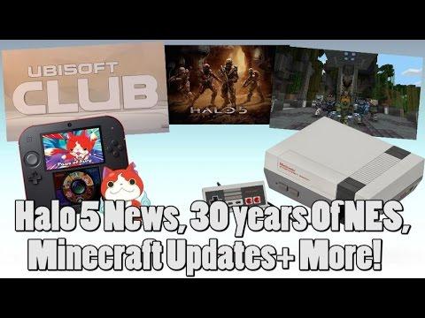 News Story Rundown - 10-23-2015 - Halo 5 Updates, World Record Mario Speed Run, NES Turns 30 + More!