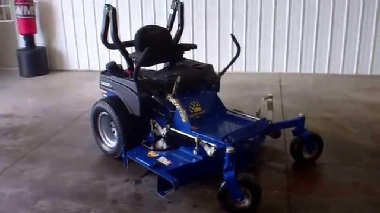 2007 Dixon Kodiak ZTR Zero Turn Mower - YouTube