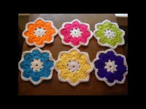 Crochet Coasters Pattern Youtube