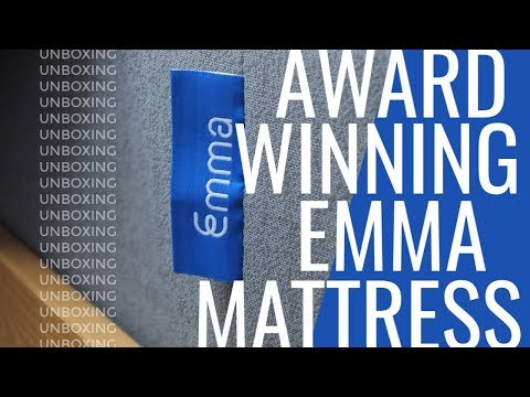Emma Mattress Unboxing