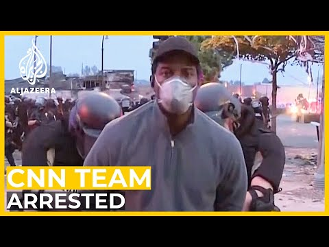 Why Was Black CNN Reporter Detained While Covering Protests?