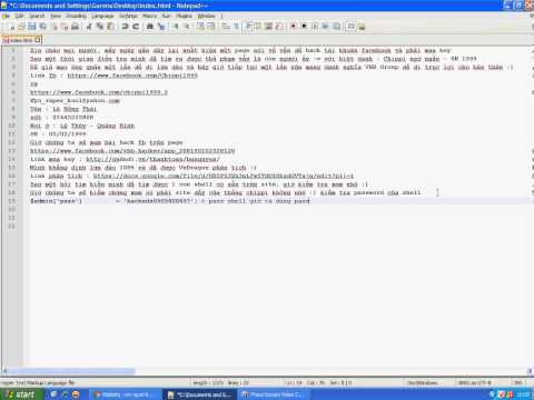 Phần Mêm Hack Mật Khẩu FB - Lừa Đảo