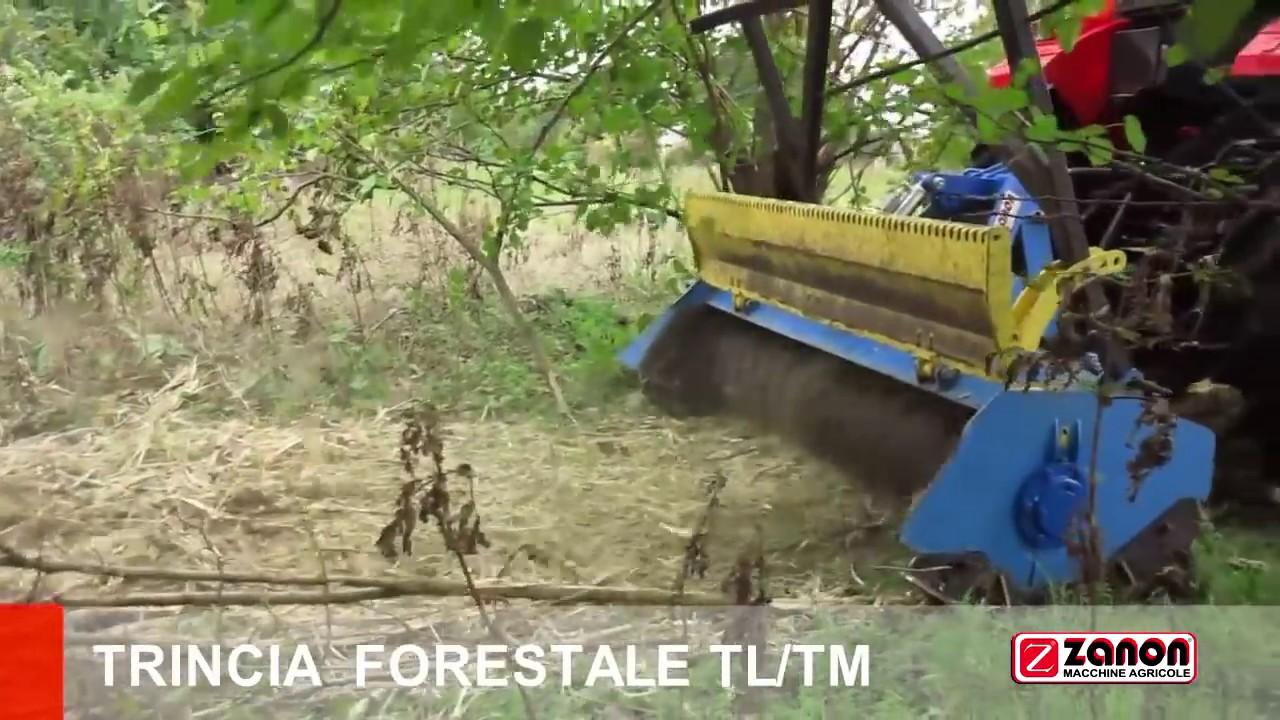 Trincia forestale tl tm funnydog tv for Zanon trincia