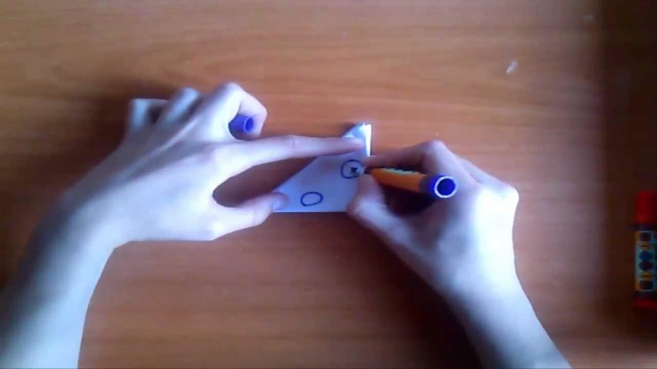 Como hacer bocas de papel tutorial paso a paso youtube - Como hacer un estor enrollable paso a paso ...