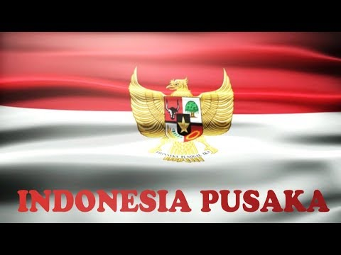 Indonesia Pusaka - Lyrics No Vocal