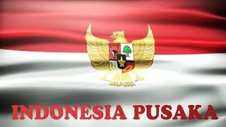 Indonesia Pusaka - Lyrics No Vocal