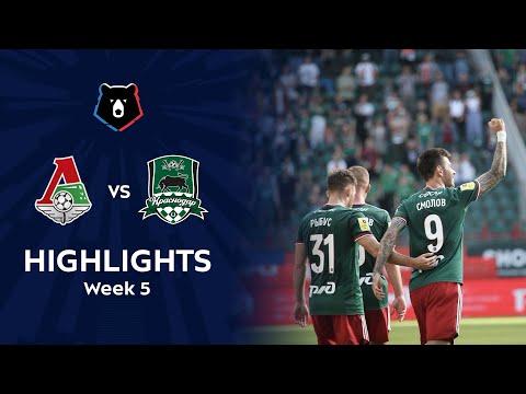 Lokomotiv Moscow Krasnodar FK Goals And Highlights