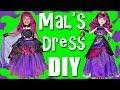 Descendants 2 Halloween Costumes Dress Up DIY Mal Dress