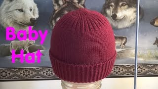 Just another Machine Knit Hat