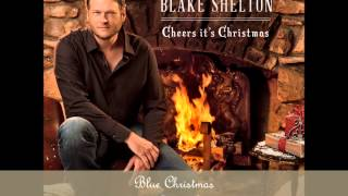 Blue Christmas by Blake Shelton Feat. Pistol Annies (Album Cover) (HD)