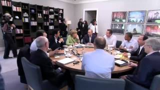 G8 Summit: plenary session on counter-terrorism