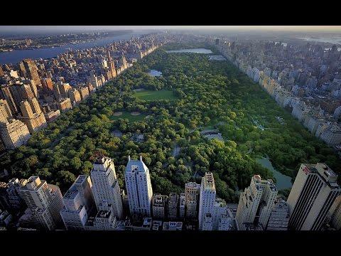 Вокруг света.Нью-Йорк с высоты птичьего полета.