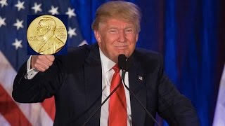 Donald Trump Nominated For A Nobel Peace Prize