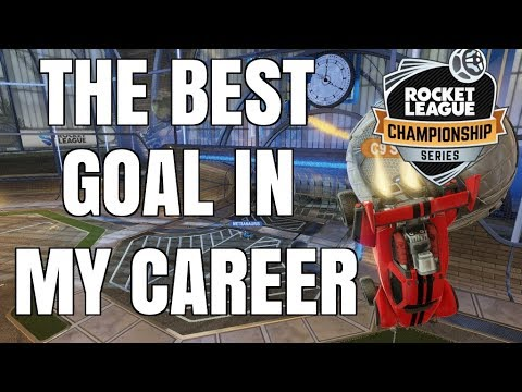 THE BEST GOAL IN RLCS HISTORY (BEST GOAL OF MY CAREER)