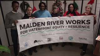 Malden River Works Holiday Greeting
